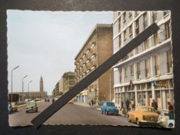 Le Havre - Carte Photo Dentelée - Quai Georges V - Circulation 2 Sens Avec Très Belle Animation - B.E - - Andere