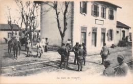 TORCY En VALOIS - La Gare De TORCY - CLIGNON. Visé Paris N° 86 (Aisne) - France