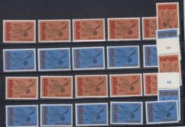 Europa Cept 1965 Netherlands 2v (12x) ** Mnh (44852) - Europa-CEPT