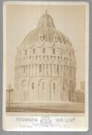 St004840bis Pise Italie Dome ,battistero  Sur Carton - Photographs