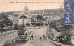 COULONGES-en-TARDENOIS - Rue De La Mairie Et Pont Suppli, Après La Guerre 14/18 (Aisne) - France