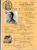 WW2 - ETAT FRANCAIS - CARTE D'IDENTITE - PARIS - Historische Documenten