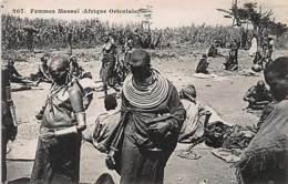 KENYA - Massai Woman - Publ. Pessageries Maritimes 207. - Kenya