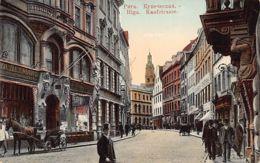 Latvia - RIGA - Kaufstrasse - Detman's Store - Publ. Hebensperger. - Lettonia