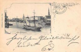 Latvia - RIGA - Der Hafenquai - Publ. C. Schullz. - Lettonia