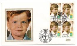 Carta Con Matasellos Commemorativo Homenaje A Su Majestad Principe. - 1931-Hoy: 2ª República - ... Juan Carlos I