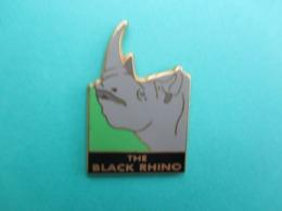 Pins Arthus Bertrand ,  Rhinocéros , The Black Rhino - Arthus Bertrand