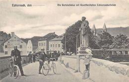 ECHTERNACH - Die Bertelstatue Mit Touristenstation Echternacherbrück - Ed. J. M. Bellwald 260. - Echternach