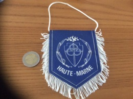 Fanion «UGSEL - HAUTE-MARNE» - Apparel, Souvenirs & Other