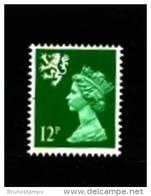 GREAT BRITAIN - 1986  SCOTLAND  12 P.  PERF. 15 X 14   MINT NH   SG  S52 - Scotland