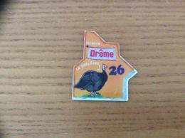 """Magnet Département Le Gaulois """"26 Drôme"""" (Pintadeau) - Magnets"""