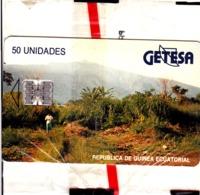 TC Telecard Republica De Guinea Ecuatorial GETESA 50U SC7, Neuve Mint NSB - Guinée-Equatoriale