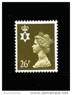 GREAT BRITAIN - 1990  NORTHERN IRELAND  26 P.  MINT NH   SG  NI61 - Regionali