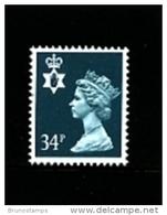 GREAT BRITAIN - 1989  NORTHERN IRELAND  34 P.  MINT NH   SG  NI66 - Regionali