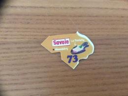"""Magnet Département Le Gaulois """"73 Savoie"""" (La Raclette) Orange - Magnets"""