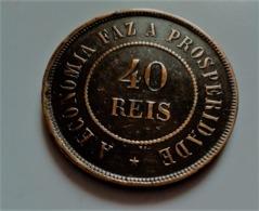 BRESIL-Jolie-piece-40-REIS-Republica-dos-estados-unidos-1889   (-B1231 ) - Brazil