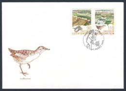 Liechtenstein 1999 FDC - Mi 1190 /1 SG 1190 /1  - Europa: Natur- Und Nationalparks / Parks + Gardens - Natur