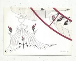 Cp,ASTROLOGIE,série Zodiaque,puzzle Composé De 12 Cartes,  N° 3, GEMEAUX ,illustrateur Yvan Mauger , Dédicacée,1986 - Astrology