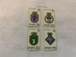 Gibraltar Naval Arms Mnh 1987 - Gibraltar