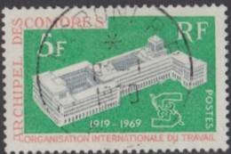 Comores (Archipel Des) - N° 55 (YT) N° 56 (AM) Oblitéré De Moroni RP. - Comoro Islands (1950-1975)