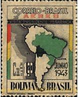 Ref. 57761 * MNH * - BRAZIL. 1943. VISIT OF THE BOLIVIAN PRESIDENT . VISITA DEL PRESIDENTE DE BOLIVIA - Brésil
