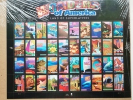 Wunder Amerikas Mi US 4078 - 4117 KB Sn US 4072a Yt US F3781 - 3820 Postfrisch Xx - Blocks & Kleinbögen