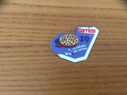 """Magnet Département Le Gaulois """"19 Corrèze"""" (Le Clafoutis Aux Cerises) Bleu - Magnets"""