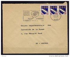 Am4234 Nord Secap Lille Dans Vos Adresses Postales Pensées 2.../Lettre 26/12/67 - Postmark Collection (Covers)