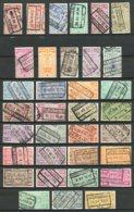 BE   TR135 - TR166    Obl   ---   Excellent état   ---  Oblitérations Choisies - Bahnwesen