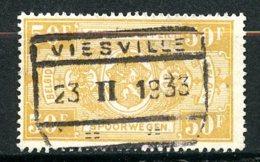 BE   TR166    Obl   ---   Cachet : Viesville - Bahnwesen