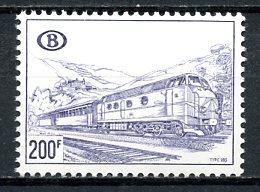BE   TR396    XX   ---   Papier Terne Type A - 1952-....