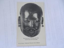 DAR ES SALAAM  KING GEORGE V MUSEUM MAKONDE DANCING MASK - Tansania