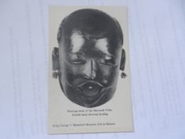 DAR ES SALAAM  KING GEORGE V MUSEUM MAKONDE DANCING MASK - Tanzanie
