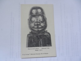 DAR ES SALAAM  KING GEORGE V MUSEUM MAKONDE TRIBE - Tansania