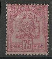 1888/ 93 Tunisie N° 18 Neuf *  Cote 220€ - Tunisie (1888-1955)