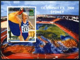 Olympics 2000 - Athletics - ROMANA - S/S Imp. MNH - Summer 2000: Sydney