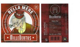 Bieretiket Millevertus - Cerveza
