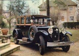 De Dion Bouton IW Limousine De Voyage  - 1927 -  Publicité Trophires Carte Postale - Passenger Cars