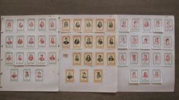 53 étiquettes De Boites D'allumettes - Hommes Femmes Célèbres - Descartes Dumas Hugo Médicis - Safety Matches - Matchbox Labels