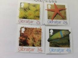 Gibraltar Marine Life 1994 Mnh - Gibraltar