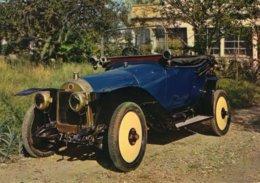 Licorne 7cv Voiturette  - 1914 -  Publicité Trophires Carte Postale - Passenger Cars