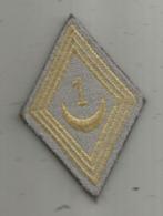 Militaria , écusson Tissus ,scratch ,2 Scans , 1 Er RSA , Saphis Algérien - Ecussons Tissu