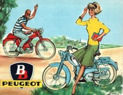 Affichette Peugeot BB - Affiches
