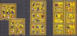 Mozambique15.11.2001 Mi # 1888-1923 Kleinbogensatz (5) Bl 80-85 Sydney Summer Olympics Champions MNH OG - Summer 2000: Sydney