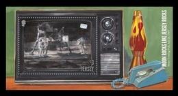 Jersey 2019 Mih. 2333 (Bl.192) Space. Apollo 11. Moon Landing MNH ** - Jersey