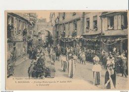 18 BOURGES CORTEGE HISTORIQUE 1923 L UNIVERSITE CPA BON ETAT - Bourges