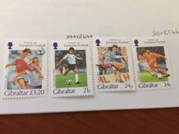 Gibraltar Football Games Mnh 1996 - Gibraltar