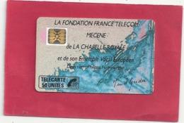 F 77A . CHAPELLE ROYALE 2 - 50 U . SC5 . - COTE 30 € . 2 SCANES - 1989