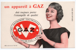 - BUVARD GAZ NF - - Electricity & Gas