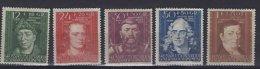 Polen   General Gouvernement  Y/T  131/ 135  (X)   Met Plakker - 1939-44: 2. WK